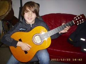 Felix Heinze, Gitarrist