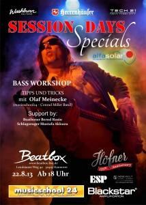 Session Days Specials Olaf Meinecke
