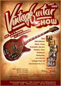 vintage guitar show in oldenburg 2013